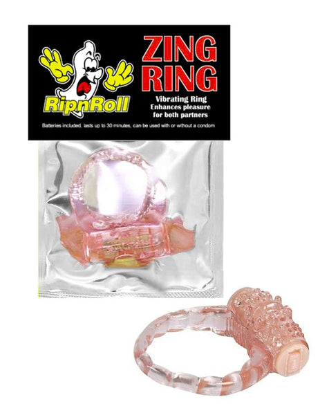 Vibrating Condom Rings From RipnRoll.com