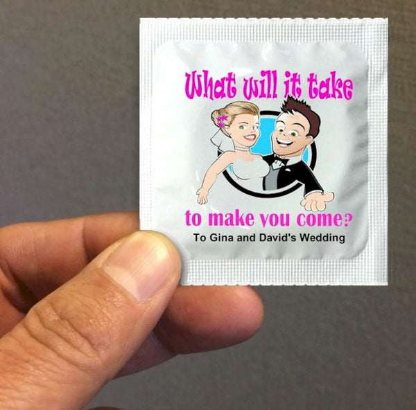 wedding condoms - RipnRoll.com