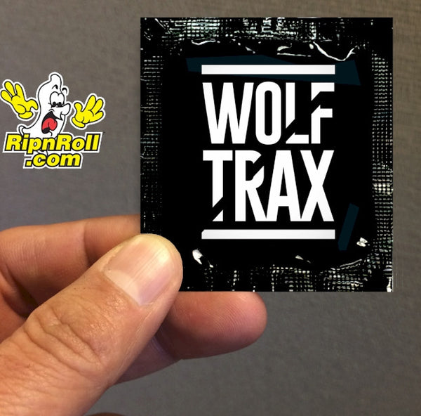 Wolf Trax - Direct Printed Foil with Full Color imprint