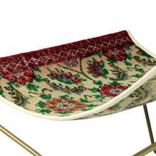 Load image into Gallery viewer, Turkish Vintage Rug Sling Chair, Brass GA124-indBE048