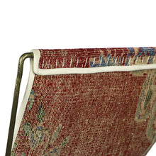 Load image into Gallery viewer, Turkish Vintage Rug Sling Chair, Brass GA125-indBE048