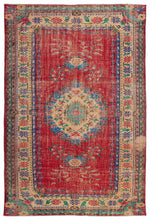 Load image into Gallery viewer, Vintage Turkish Rug, GA15586