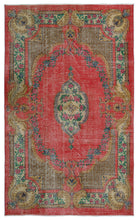 Load image into Gallery viewer, Vintage Turkish Rug, GA23512