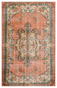 Vintage Turkish Rug, GA27746