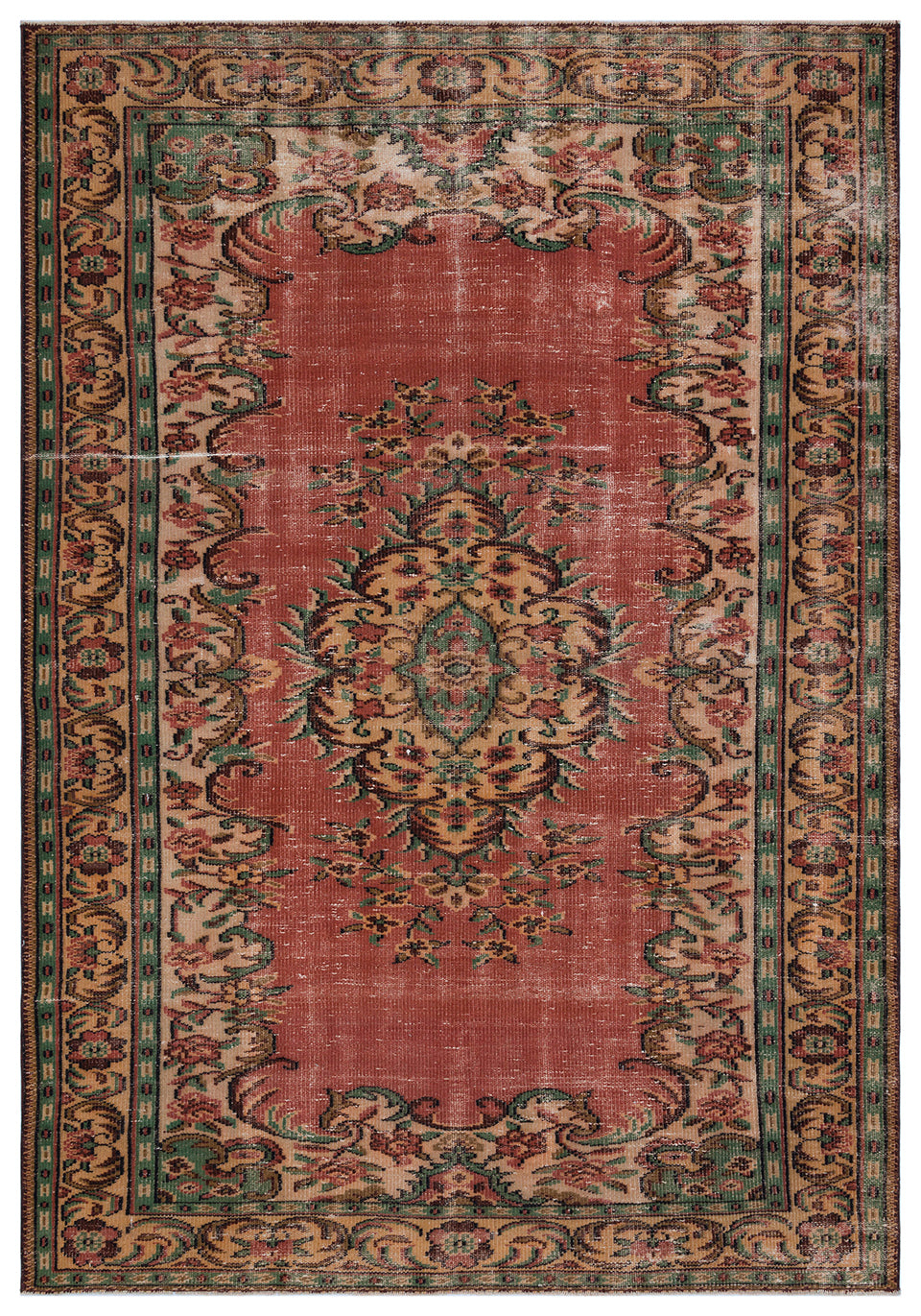 Vintage Turkish Rug, GA27951