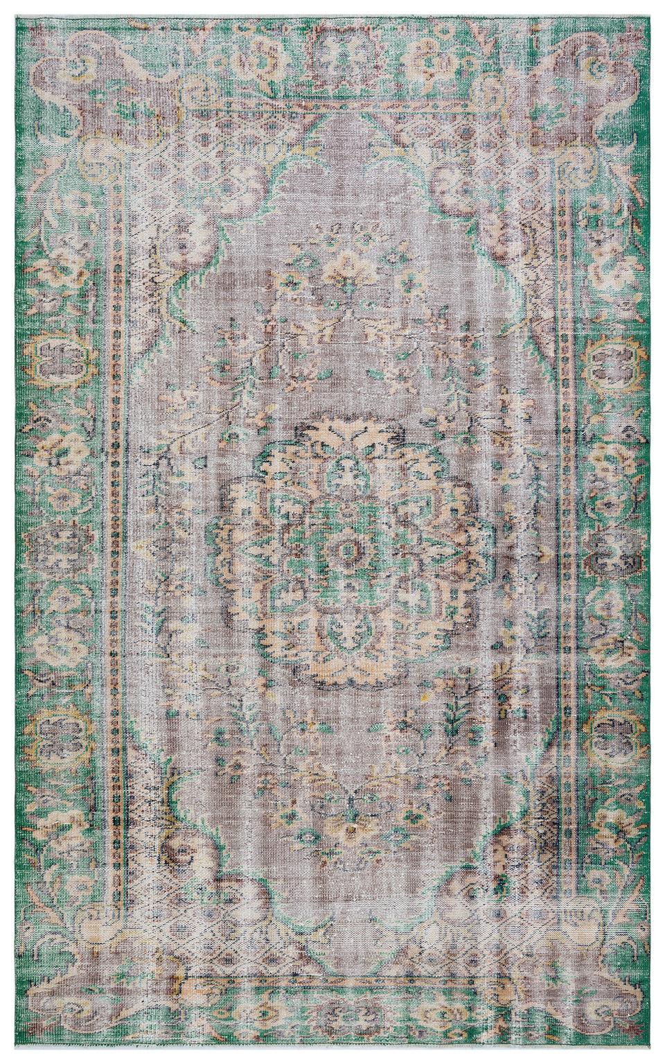 Vintage Turkish Rug, GA28346