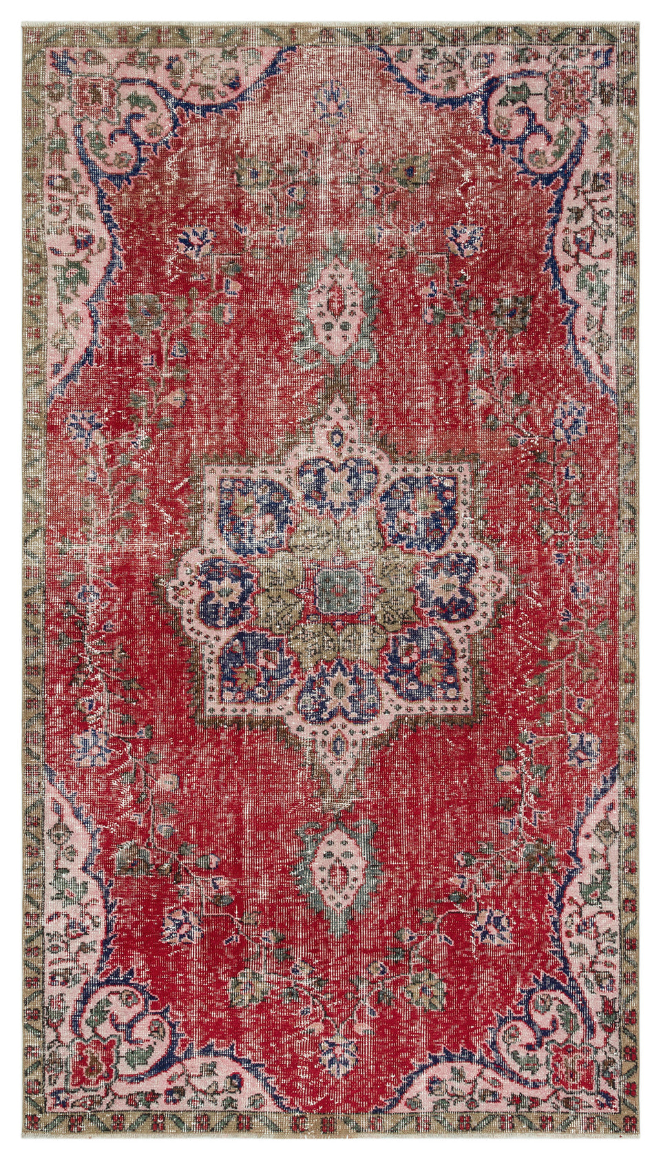 Vintage Turkish Rug, GA34531