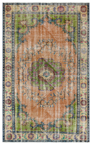 Vintage Turkish Rug, GA34763