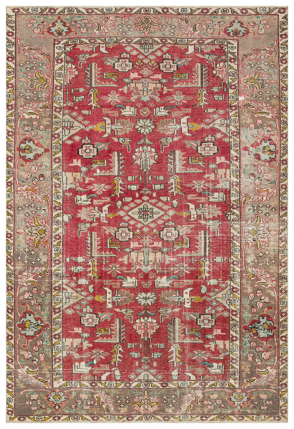 Vintage Turkish Rug, GA34981