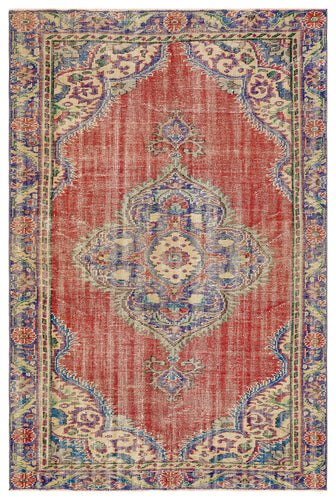 Vintage Turkish Rug, GA35896