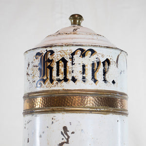 Vintage German Coffee Bin, G085