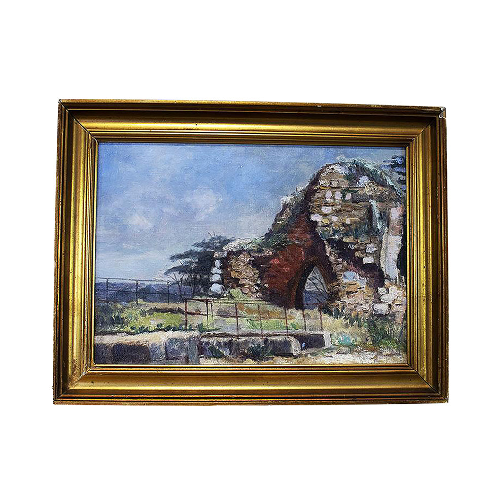 Framed and Signed Oil on Canvas Landscape, G020
