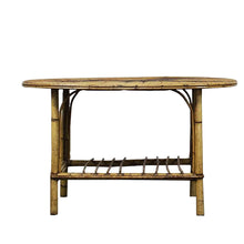 Load image into Gallery viewer, Mid-Century Bamboo Horse Table, G046