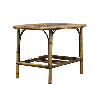 Mid-Century Bamboo Horse Table, G046