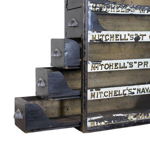 Mitchell's Tobacco Display Cabinet, G047