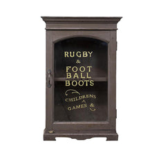 Load image into Gallery viewer, Rugby and Football Indian Wall Cabinet, G052