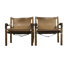 "Load image into Gallery viewer, ""Siroco"" Chairs by Arne Novell, S/2, G059"