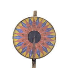 Load image into Gallery viewer, Vintage French Game Wheel, G083
