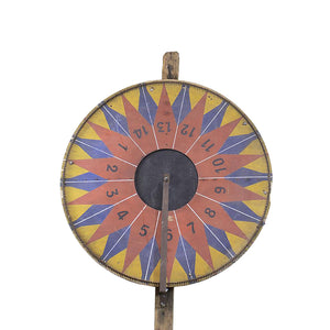 Vintage French Game Wheel, G083