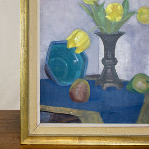 Oil on Canvas by Yngve Berg, dated 1939, G115