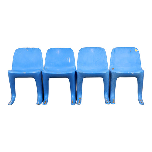 Eastern Germany 'Z' Chairs by Ernst Moeckl, S/4, G126