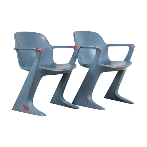 Eastern Germany 'Z' Chairs by Ernst Moeckl, S/2, G127