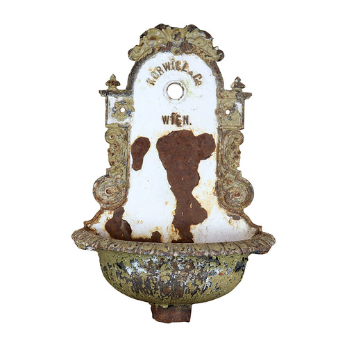 Decorative Cast Iron Wall Fountain, G129