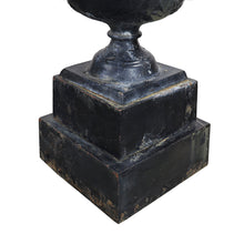 Load image into Gallery viewer, Cast Iron Urn on Base, G140