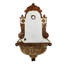 Load image into Gallery viewer, Decorative Cast Iron Wall Fountain, G166