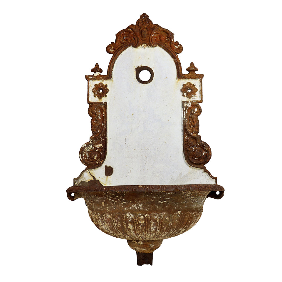 Decorative Cast Iron Wall Fountain, G166