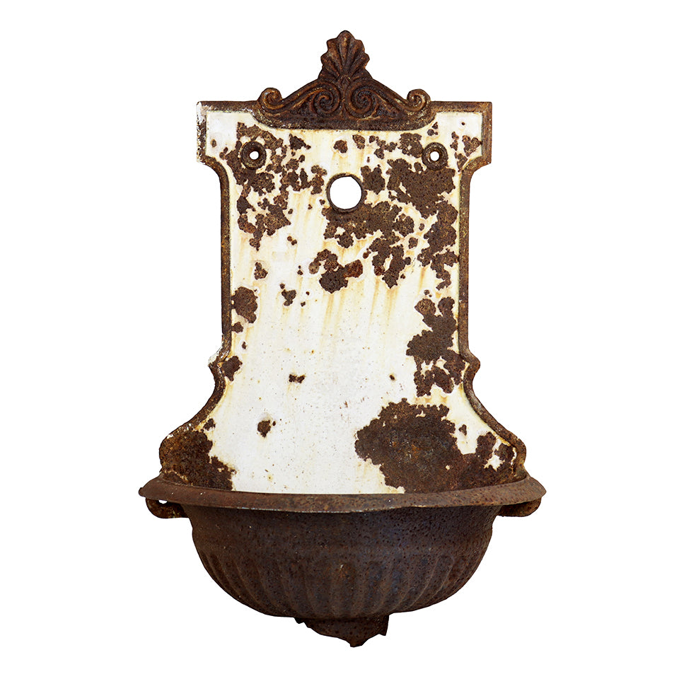 Decorative Cast Iron Wall Fountain, G170