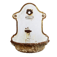 Load image into Gallery viewer, Decorative Cast Iron Wall Fountain, G171