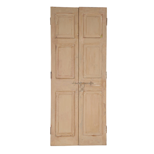 Wooden Door, Pair, G401