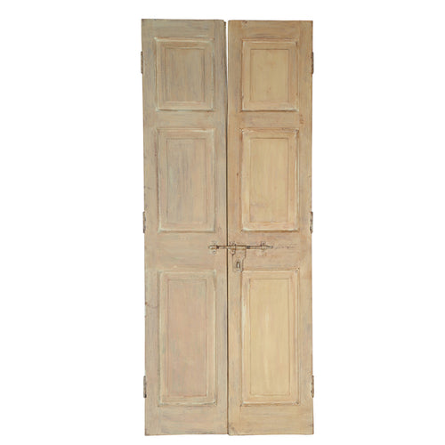 Wooden Door, Pair, G402