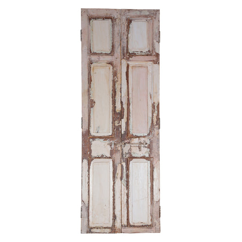 Wooden Door, Pair, G405