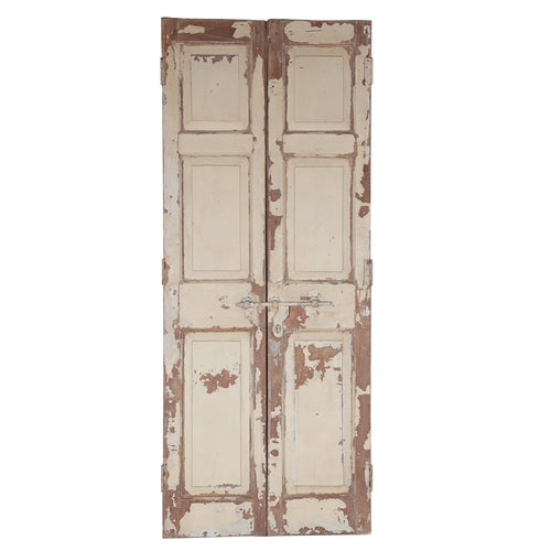 Wooden Door, Pair, G406