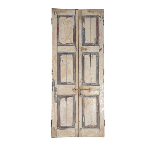 Wooden Door, Pair, G408