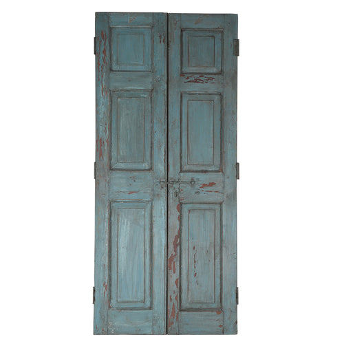 Wooden Door, Pair, G408a