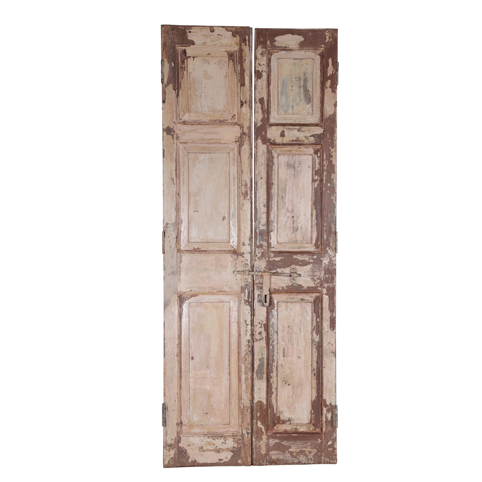 Wooden Door, Pair, G410