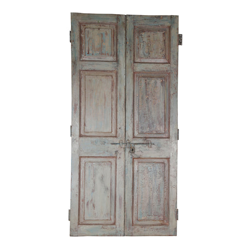 Wooden Door, Pair, G411