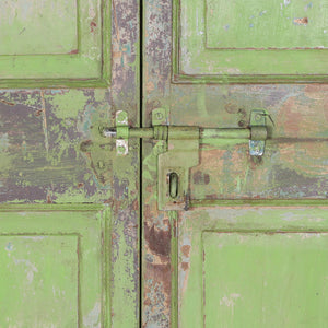 Wooden Door, Pair, G416