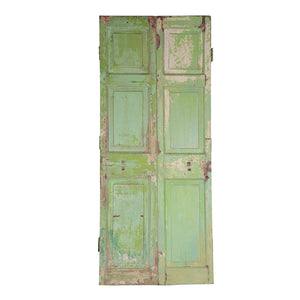 Wooden Door, Pair, G417