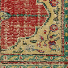 Load image into Gallery viewer, Turkish Vintage Rug Bench, Rectangle, Brass GA151-indBE051