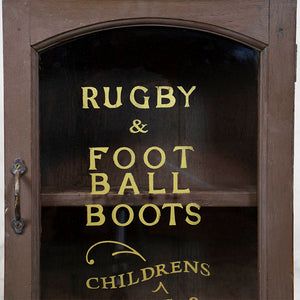 Rugby and Football Indian Wall Cabinet, G052