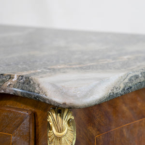 Bombay Style Marble Top Commode, G006
