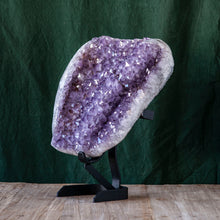 Load image into Gallery viewer, Polished Amethyst Druze on Iron Base, G237
