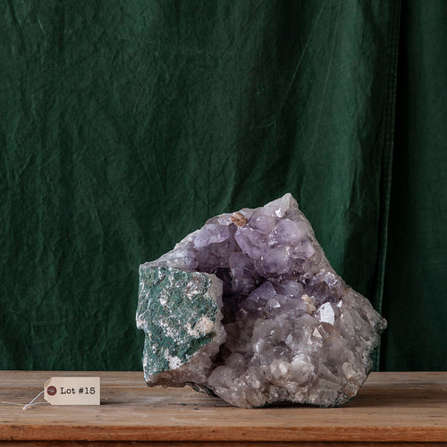 Amethyst Druze as Found, G240