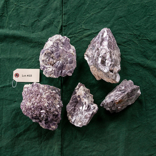 Grape Lepidolite, 5 pcs, G248