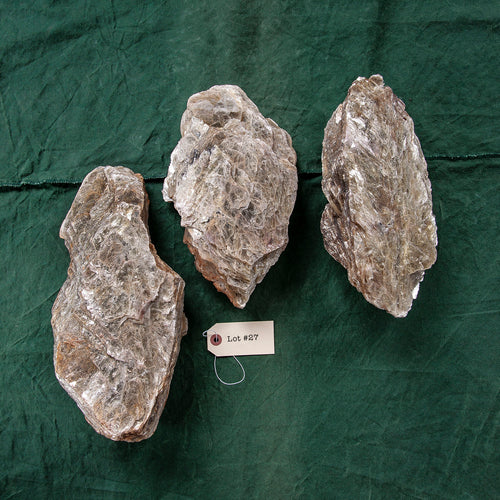 Mica Formation, 3 pcs, G252
