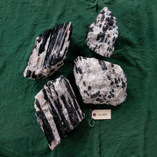Load image into Gallery viewer, Tourmaline on Quartz Matrix, 4 pcs, G256
